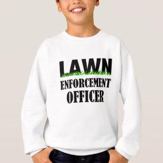 Dirigeant d'application de pelouse sweatshirt