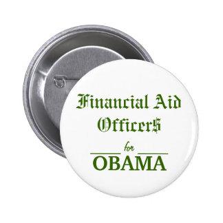 Dirigeants d'aide financière pour OBAMA Pin's