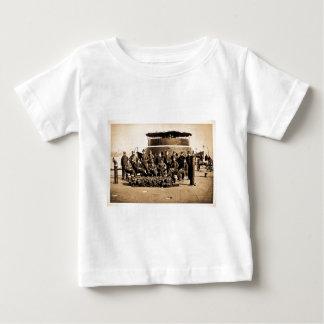 Dirigeants sur la plate-forme de la guerre civile t-shirt