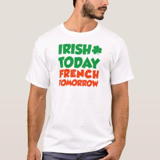 D'Irlandais Français aujourd'hui demain T-shirt