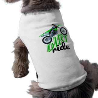 Dirtbike T-shirt Pour Chien