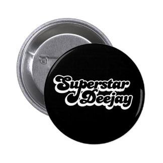 Disc-jockey de superstar pin's