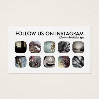disciples d'instagram cartes de visite