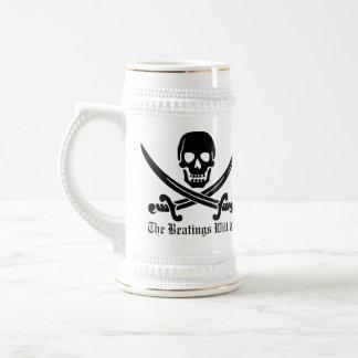 Discipline de pirate chope à bière