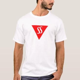 Discours dans le mâle de T-shirt de lumière de