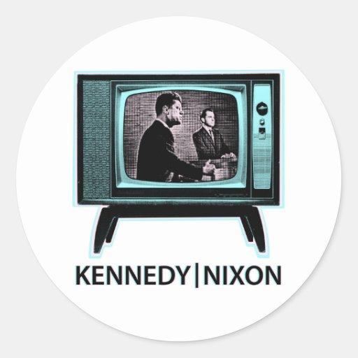 Discussion 1960 de Kennedy Nixon Autocollant