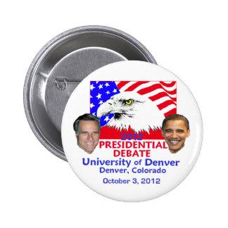 Discussion présidentielle pin's