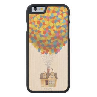 Disney Pixar VERS LE HAUT de pastel de Chambre de Coque Carved® Slim iPhone 6 En Érable