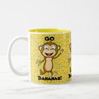 Disparaissent la tasse de la banane