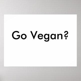Disparaissent l'affiche végétalienne poster