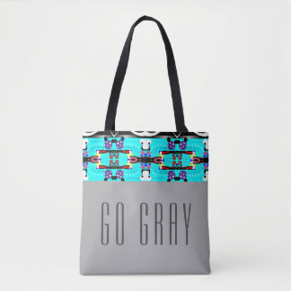 Disparaissent le gris tote bag