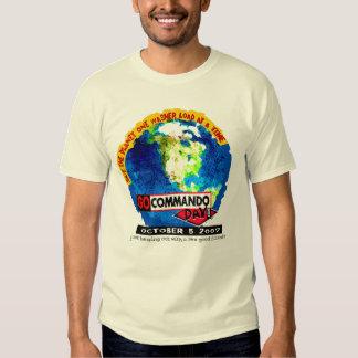 disparaissent le jour 2007 de commando t-shirts