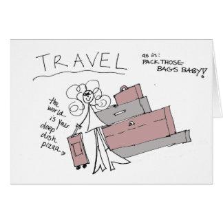Disparaissent les cartes de Crazyhair de voyage