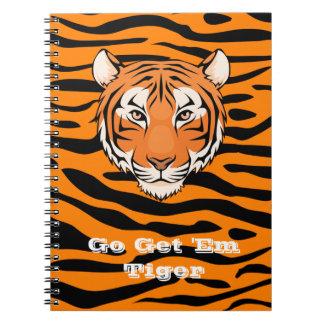 Disparaissent leur obtiennent le carnet de tigre -