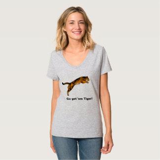 Disparaissent leur obtiennent le T-shirt de tigre