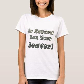 Disparaissent Tan naturel votre castor T-shirt