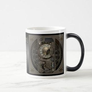 Dispositif de Steampunk - téléphone de cadran Mug Magique