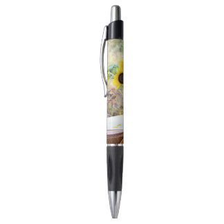 Disposition de tournesol stylo