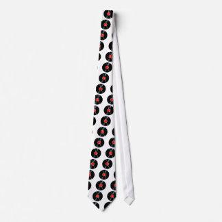 Disque cassé d'isolement cravate