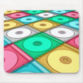 Disque CD Tapis De Souris