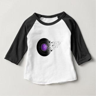 Disque de cri de colombes t-shirt pour bébé