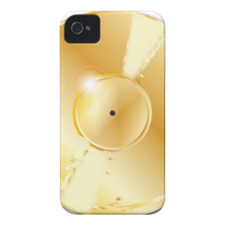 Disque d'or coques iPhone 4 Case-Mate