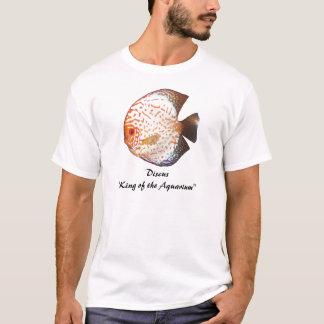 """Disque """" roi de l'aquarium """" t-shirt"""