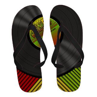 Disque vinyle drôle de reggae
