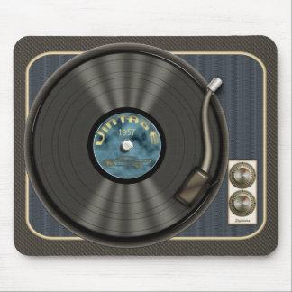 Disque vinyle vintage Mousepad Tapis De Souris