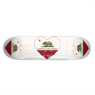 dist de coeur de Canada Flintridge de La de drapea Skateboard Customisable