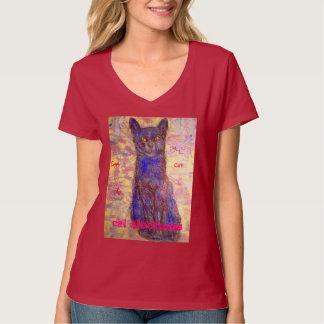 distance fraîche de chat t-shirts