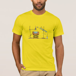 Distillation, T-shirt de croquis de mise au point
