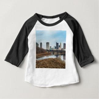 District des affaires central Columbus, Ohio T-shirt Pour Bébé