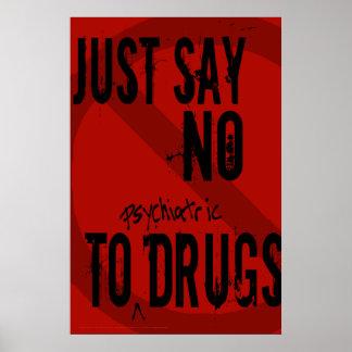 Dites juste l'affiche de NO-