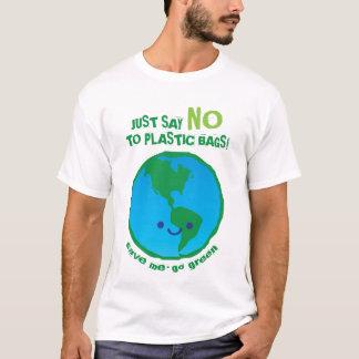 Dites juste non au T-shirt de sachets en plastique