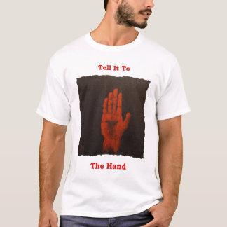Dites-le au T-shirt d'Irlandais de main