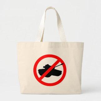 Dites non aux guerres sacs de toile