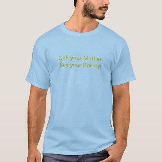 Dites votre T-shirt de chapelet