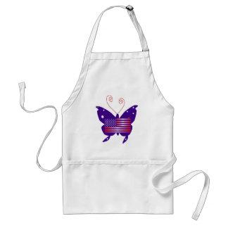 Diva américaine de papillon tabliers