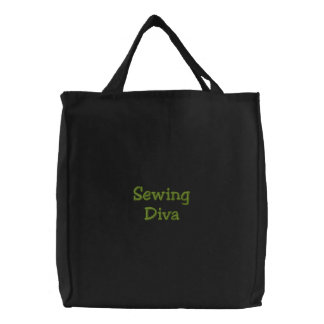 Diva de couture sacs en toile