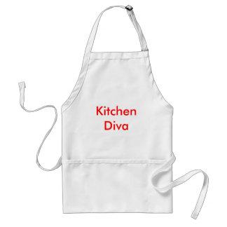 Diva de cuisine tablier