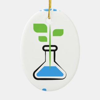 Diva de la Science (biologie) Ornement Ovale En Céramique