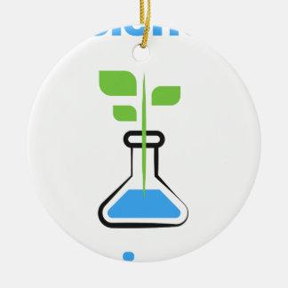Diva de la Science (biologie) Ornement Rond En Céramique