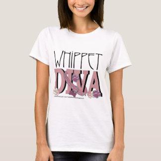 DIVA de whippet T-shirt