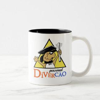 divercão de caneca mug bicolore