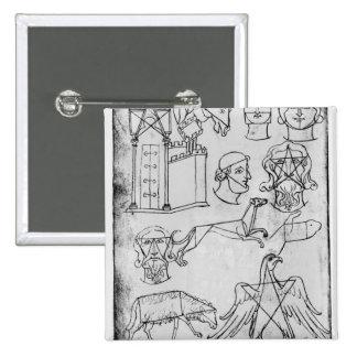 Divers dessins de Mme Fr 19093 fol.18v Badges