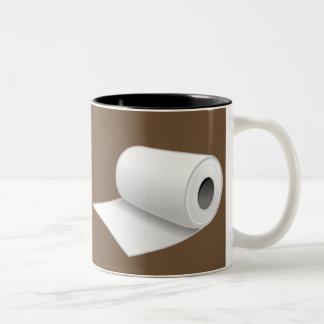 Divers effets de café tasse 2 couleurs