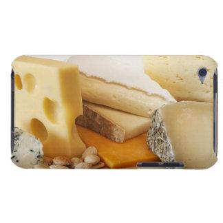 Divers fromages sur le hachoir coque iPod touch
