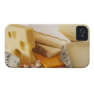 Divers fromages sur le hachoir coques iPhone 4
