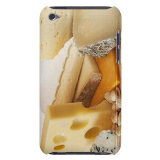 Divers fromages sur le hachoir étui iPod touch